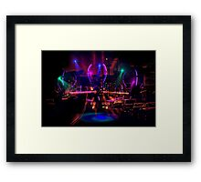 They Are Coming! Framed Print