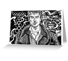 TORCHWOOD - CAPTAIN JACK Greeting Card