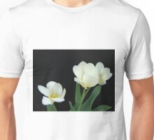 Three White Tulips Unisex T-Shirt