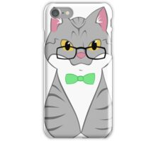 Tabby Cat - Roosevelt (geek version) iPhone Case/Skin
