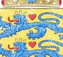 Danish Coat of Arms Denmark Symbol Sticker