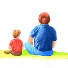 Father and Son by Kezzarama