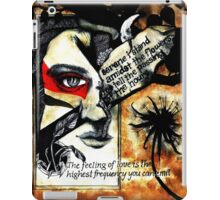 Amidst the flowers iPad Case/Skin