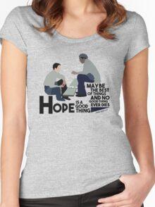 Shawshank Redemption  Women's Fitted Scoop T-Shirt