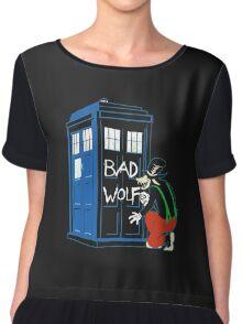 Big Bad Wolf Chiffon Top