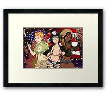 Super Best Friends Brawl Framed Print