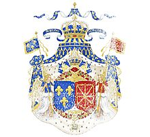 French Coat of Arms France Symbol Photographic Print
