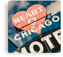 Heart of Chicago 1 Canvas Print