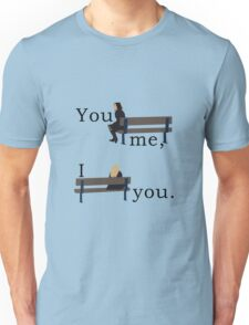 You bench me, now I bench you. Unisex T-Shirt
