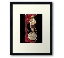Foolish Mortals its A Trap Framed Print