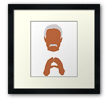 Shepherd Book - Man, Myth and Legend Firefly Framed Print