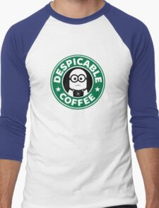 Despicable Coffee Men's Baseball ¾ T-Shirt