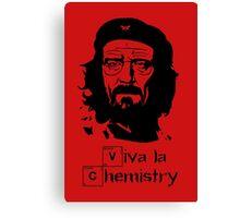 Viva la Chemistry - Walt Canvas Print