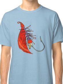 Fishing, Funny, vintage, retro, humour, parody, tshirt Classic T-Shirt