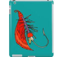 Fishing, Funny, vintage, retro, humour, parody, tshirt iPad Case/Skin
