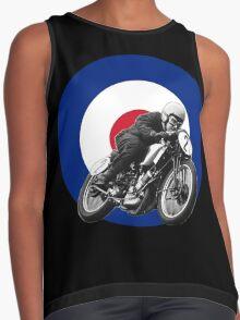 Classic UK Motorcycle Racing Contrast Tank