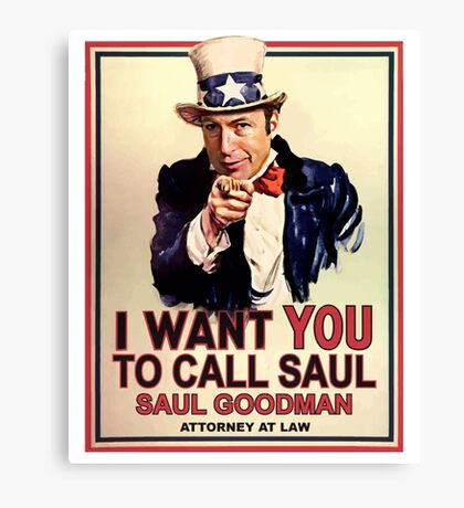 You Better Call Saul Canvas Print