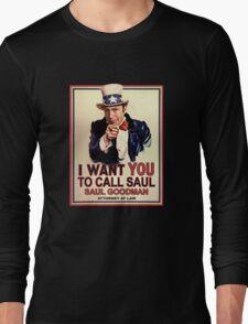 You Better Call Saul Long Sleeve T-Shirt