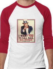 You Better Call Saul Men's Baseball ¾ T-Shirt