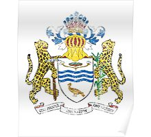 Guyanese Coat of Arms Guyana Symbol Poster