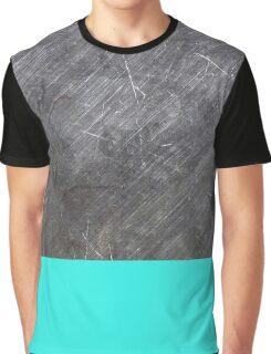 teal metal Graphic T-Shirt