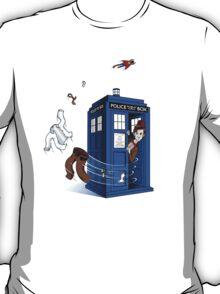 Superman's TARDIS (Iphonecase) T-Shirt