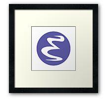 Emacs Linux Framed Print