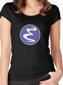 Emacs Linux Women's Fitted Scoop T-Shirt
