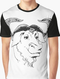 GNU Graphic T-Shirt