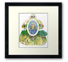 Honduran Coat of Arms Honduras Symbol Framed Print
