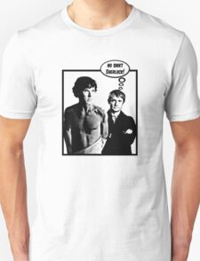 No Shirt Sherlock! Unisex T-Shirt