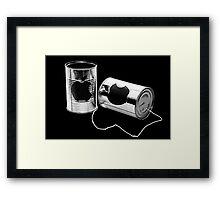 iCan Framed Print
