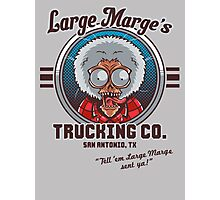 Large Marge's Trucking Co. Photographic Print