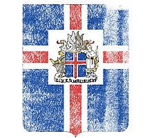 Icelanders Coat of Arms Iceland Symbol Photographic Print