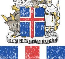 Icelanders Coat of Arms Iceland Symbol Sticker