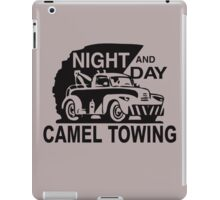Night And Day Camel Towing iPad Case/Skin