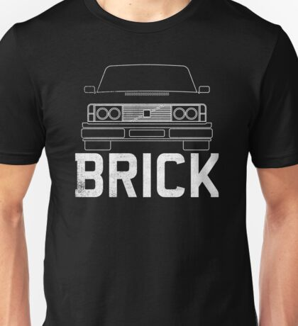 Old Volvo Brick Unisex T-Shirt