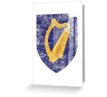 Irish Coat of Arms Ireland Symbol Greeting Card