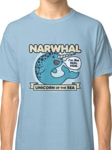 Narwhal Unicorn Of The Sea Classic T-Shirt