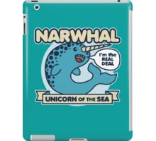 Narwhal Unicorn Of The Sea iPad Case/Skin