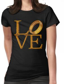 Love is Precious Womens Fitted T-Shirt
