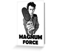Dirty Harry Magnum Force Greeting Card