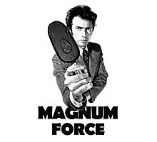 Dirty Harry Magnum Force Photographic Print
