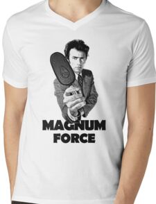 Dirty Harry Magnum Force Mens V-Neck T-Shirt