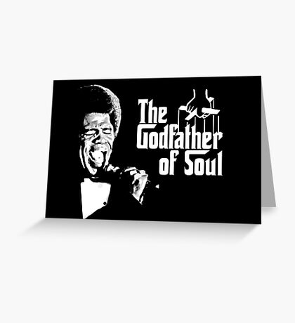 The Godfather of Soul - James Brown Greeting Card