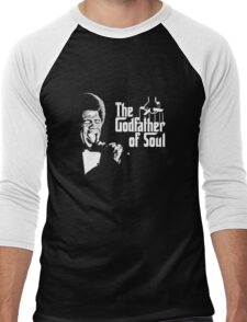 The Godfather of Soul - James Brown Men's Baseball ¾ T-Shirt
