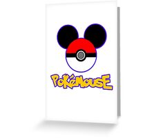 PokeMouse Greeting Card