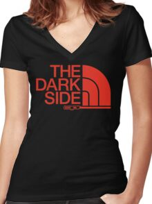 Come to this Side Women's Fitted V-Neck T-Shirt