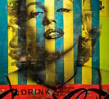 Striped Marilyn by depsn1