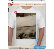 Joy Division shirt shirt shirt shirt iPad Case/Skin